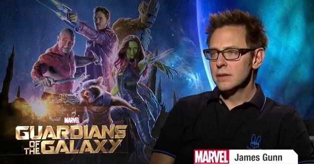 James Gunn confirma que irá escrever e dirigir 'Guardiões da Galáxia Vol. 3'