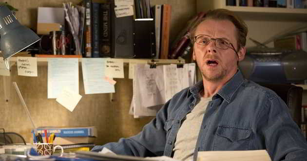 Simon Pegg vai protagonizar o drama 'Lost Transmissions'