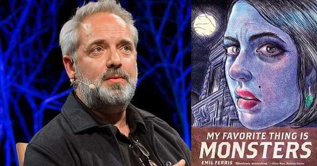 Sam Mendes em negociações para produzir e dirigir 'My Favorite Thing is Monsters'