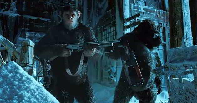 Segundo trailer legendado em português de 'Planeta dos Macacos: A Guerra'