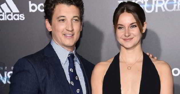 Miles Teller poderá juntar-se a Shailene Woodley no elenco de 'Adrift'