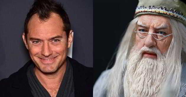 Jude Law vai ser Dumbledore em 'Monstros Fantásticos e Onde Encontrá-los 2'