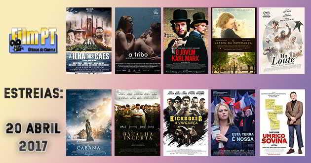 Estreias de Filmes da Semana: 20 de abril de 2017