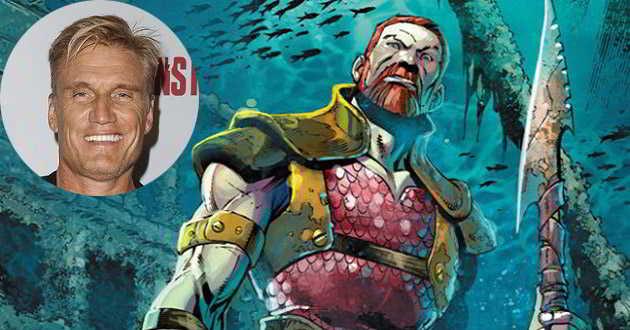 Dolph Lundgren confirmado como o Rei Nereus em 'Aquaman'