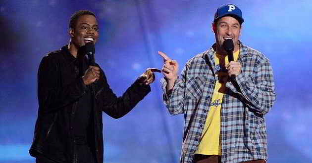 Chris Rock junta-se a Adam Sandler na nova comédia 'The Week Of'