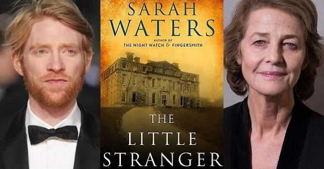 Domhnall Gleeson e Charlotte Rampling juntos em 'The Little Stranger'