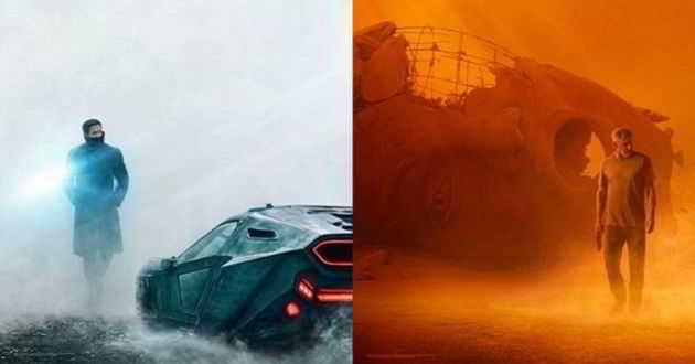 Ryan Gosling e Harrison Ford estampam os posters de 'Blade Runner 2049'