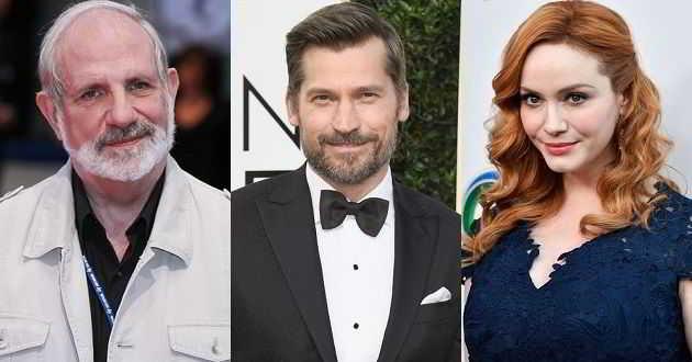 Brian De Palma vai dirigir 'Domino' com Nikolaj Coster-Waldau e Christina Hendricks