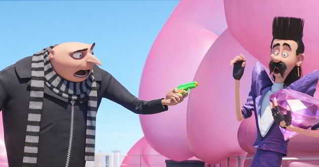 Segundo trailer dobrado em português da animação 'Gru - O Maldisposto 3'