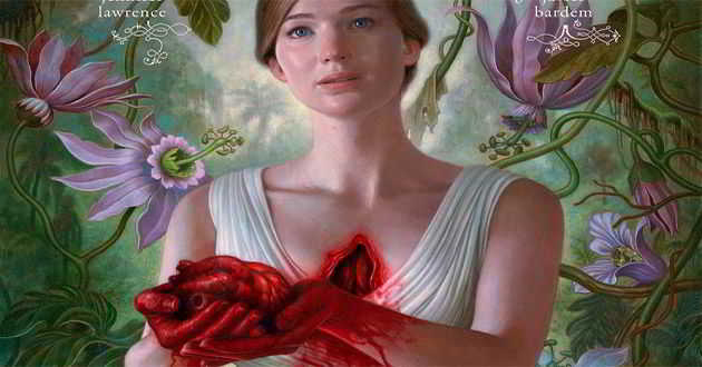 Jennifer Lawrence no primeiro poster oficial de 'Mother!'