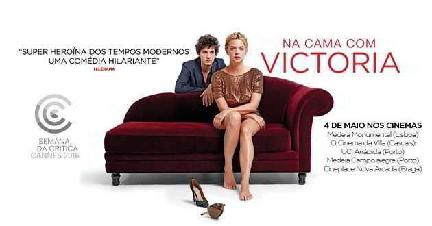 Trailer português de 'Na Cama com Victoria', com Virginie Efira