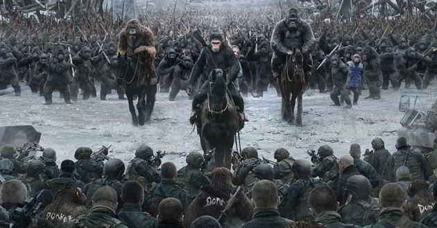 Trailer final legendado em português de 'Planeta dos Macacos: A Guerra'