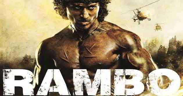 Revelado o primeiro poster oficial da versão indiana de 'Rambo'