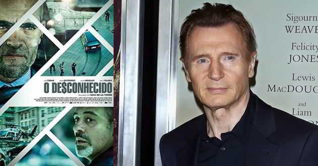 Liam Neeson vai protagonizar o remake do thriller espanhol 'O De$conhecido'