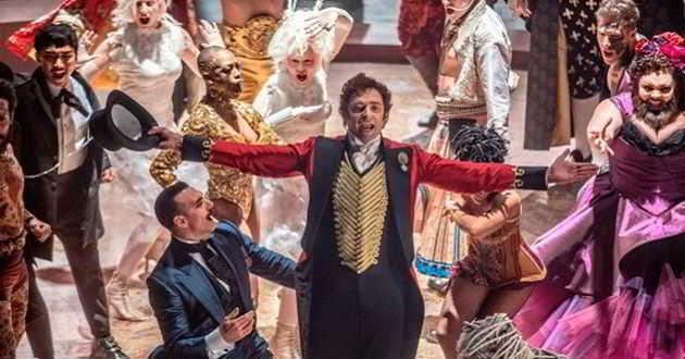 Divulgadas as primeiras imagens do musical 'The Greatest Showman'