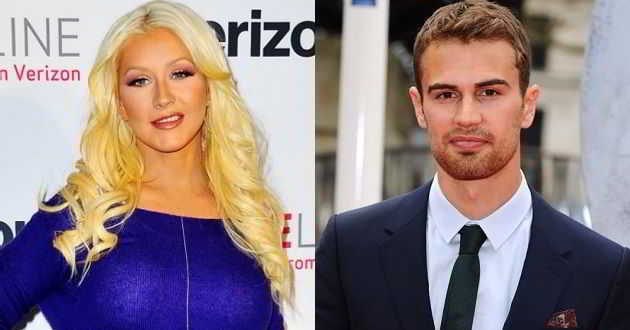 Christina Aguilera e Theo James no romance de ficção científica 'Zoe'