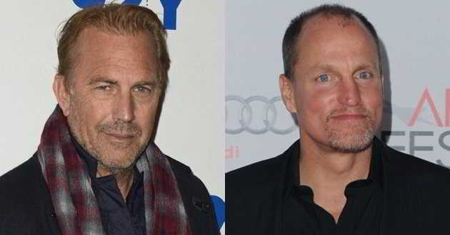 Kevin Costner e Woody Harrelson em negociações para protagonizarem 'Highwaymen'