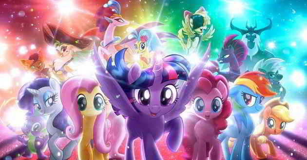 Primeiro trailer oficial da animação 'My Little Pony: The Movie'