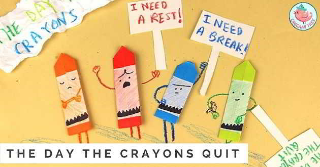 Sony com intenções de adaptar o livro ilustrado infantil 'The Day the Crayons Quit'