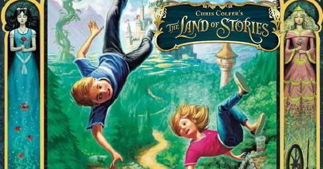 Chris Colfer vai dirigir adaptação cinematográfica  de  'The Land of Stories'