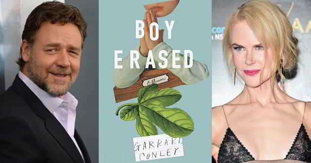 'Boy Erased': Filme poderá reunir pela primeira vez Russell Crowe e Nicole Kidman