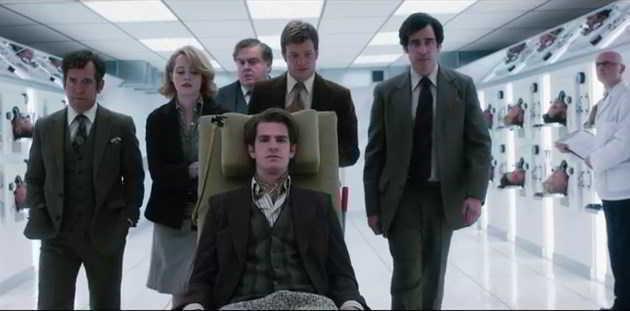 Andrew Garfield e Claire Foy no primeiro poster e trailer do drama 'Breathe'