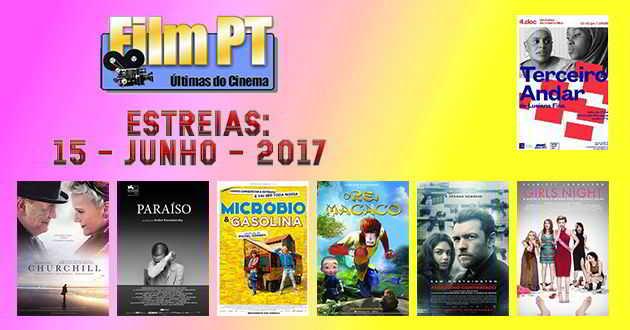 Estreias de Filmes da Semana: 15 de junho de 2017
