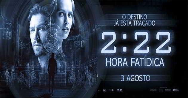 Trailer português de '2:22 - Hora Fatídica' com Teresa Palmer e Michiel Huisman
