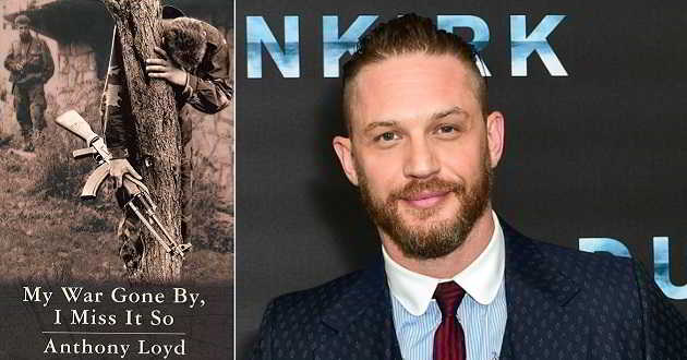 Tom Hardy será um repórter de guerra na Bósnia em 'My War Gone By, I Miss It So'