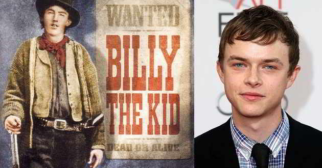 Dane DeHaan será o pistoleiro Billy the Kid no western 'The Kid'