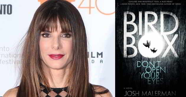 Sandra Bullock será a protagonista do filme pós-apocalíptico 'Bird Box'