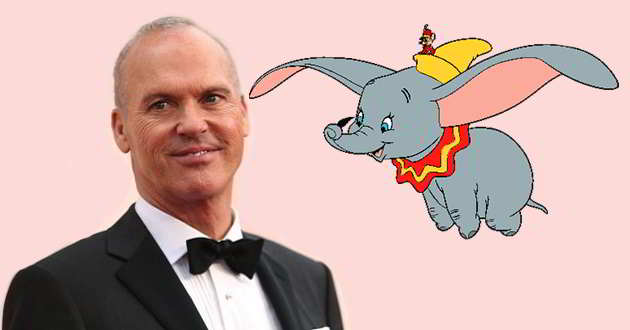 Remake live-action de 'Dumbo' terá Michael Keaton como o principal vilão