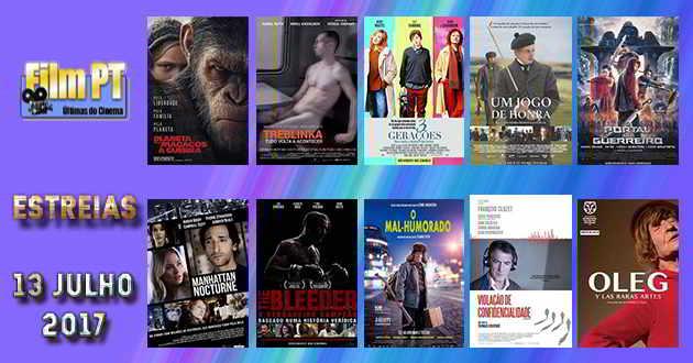 Estreias de Filmes da Semana: 13 de julho de 2017