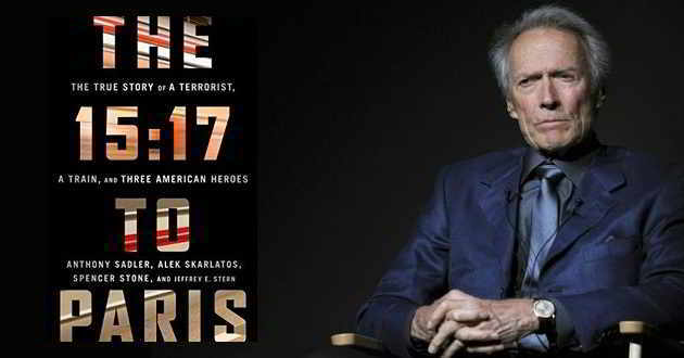 Clint Eastwood vai ter no elenco de 'The 15:17 to Paris' três heróis da vida real