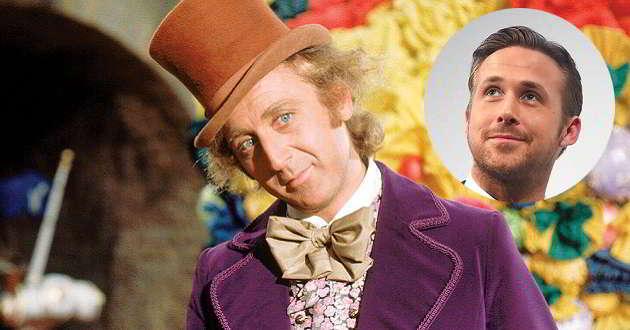 Ryan Gosling poderá ser o protagonista da prequela de Willy Wonka
