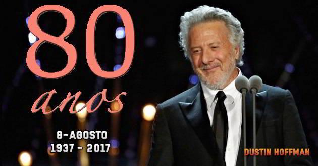 Comemora hoje o 80º aniversário. Parabéns Dustin Hoffman