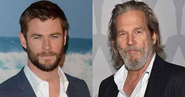 Chris Hemsworth e Jeff Bridges confirmados como protagonistas de