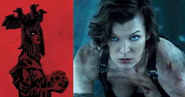 Milla Jovovich poderá ser a Rainha do Sangue no reboot de 'Hellboy'