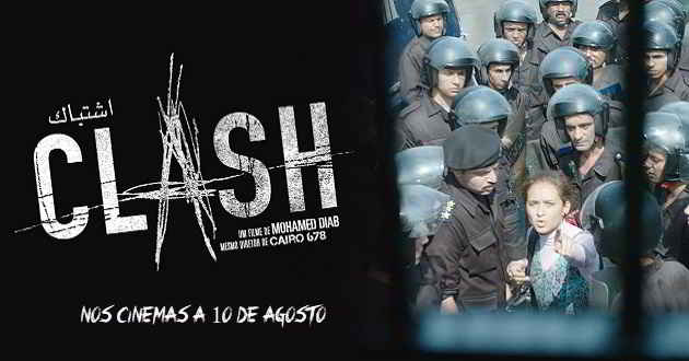 'Clash': Trailer português do thriller dramático de Mohamed Diab