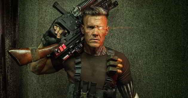 'Deadpool 2': Reveladas as primeiras imagens de Josh Brolin como Cable