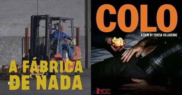 'A Fábrica de Nada' e 'Colo' já têm data de estreia nos cinemas portugueses
