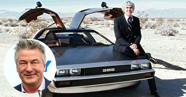 Alec Baldwin interpretará num documentário o fabricante de automóveis John DeLorean