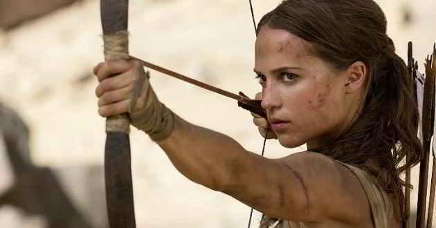 Alicia Vikander é Lara Croft. Primeiro trailer oficial de