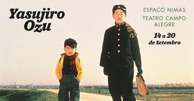 5 filmes de Yasujiro Ozu vão ser exibidos de 14 a 20 de setembro
