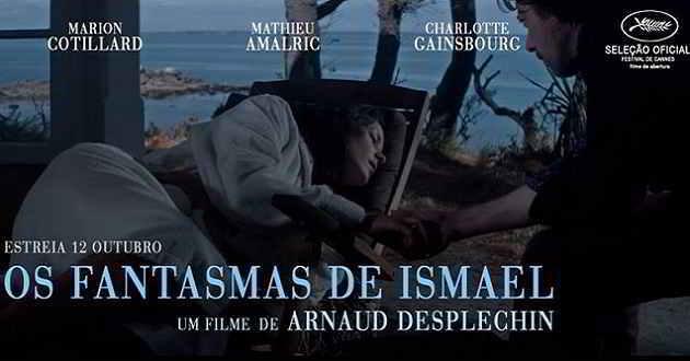 Mathieu Amalric e Marion Cotillard no trailer oficial de