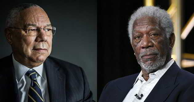 Morgan Freeman interpretará Collin Powell, ex-Secretário de Estado dos EUA