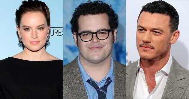 Daisy Ridley, Josh Gad e Luke Evans juntos no elenco de uma nova comédia