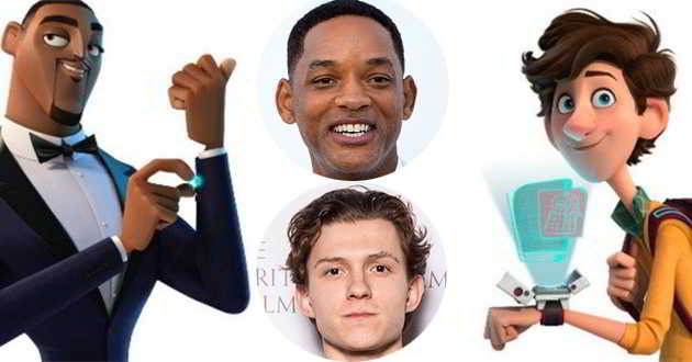 Will Smith e Tom Holland no elenco de vozes da animação
