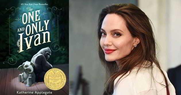 Angelina Jolie irá dar voz a um personagem de