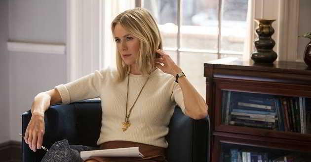 Naomi Watts será a protagonista do thriller psicológico